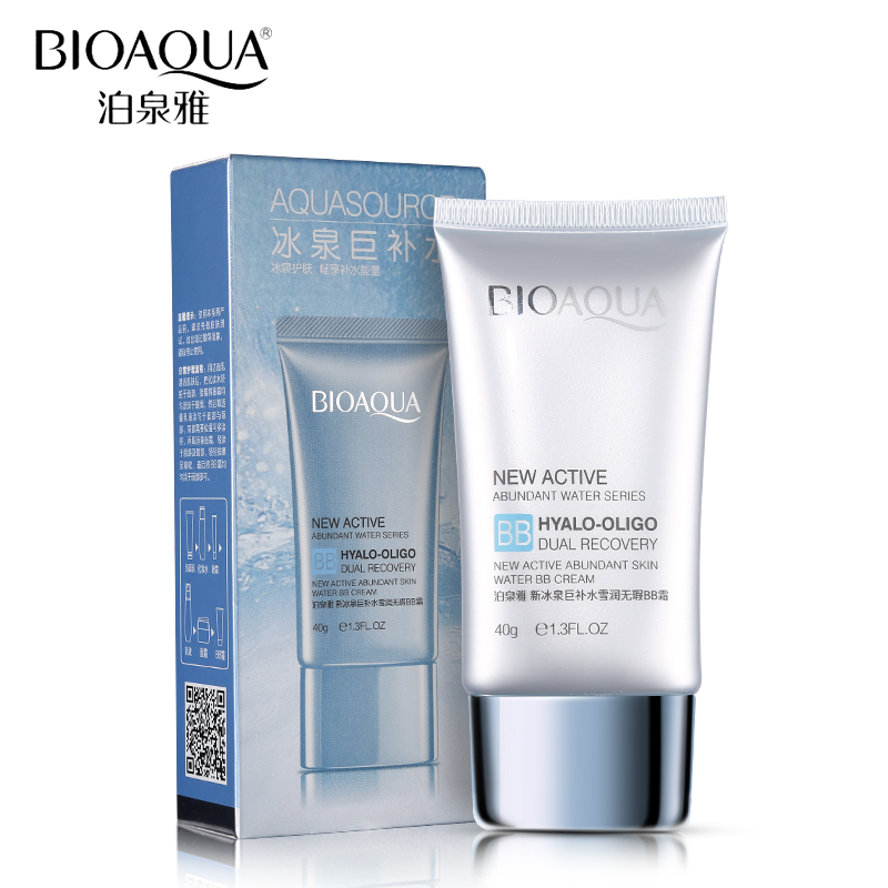 BIOAQUA Brand Ice Spring Face Makeup Base BB Cream Waterproof Moisturizer Oil Control Foundation Make Up Concealer Cosmetic Set