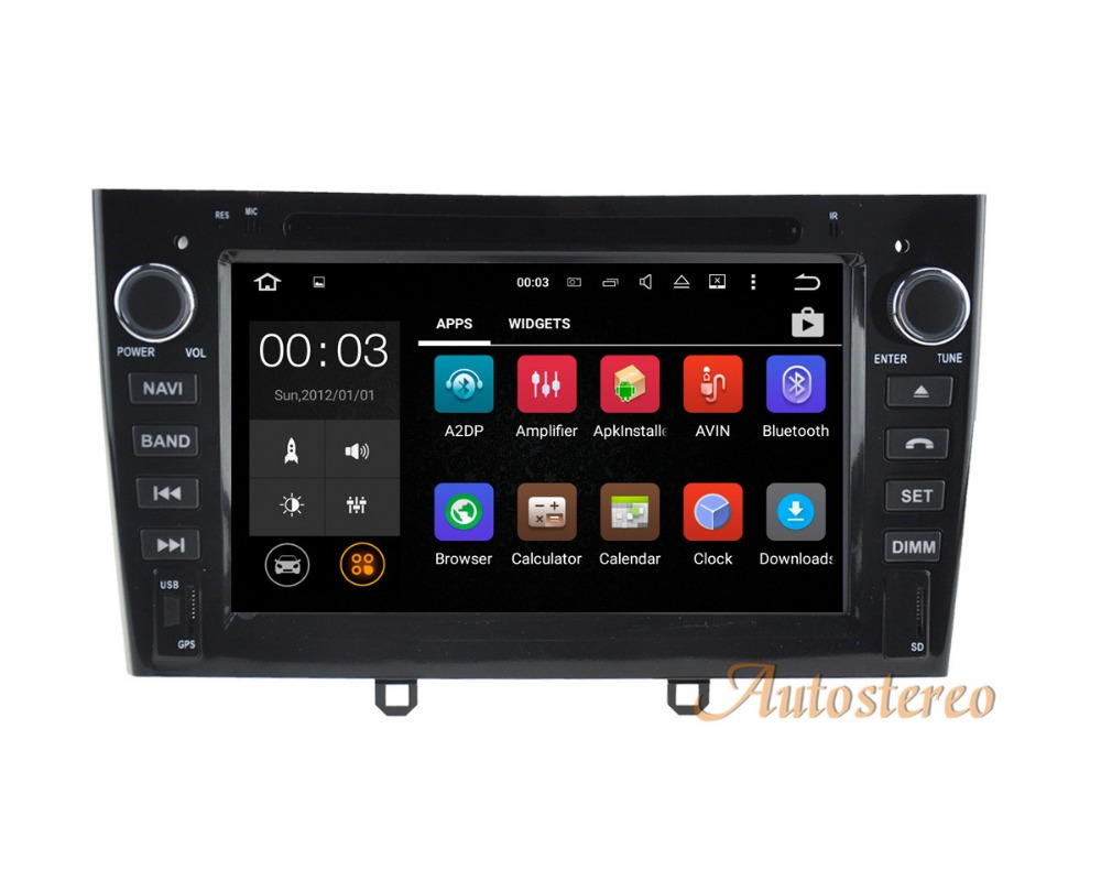 Autostereo Android8 Car DVD player car GPS navigation For Peugeot 408 308 308SW 2 din radio headunit multimedia tape recorder skagen 585xstxm