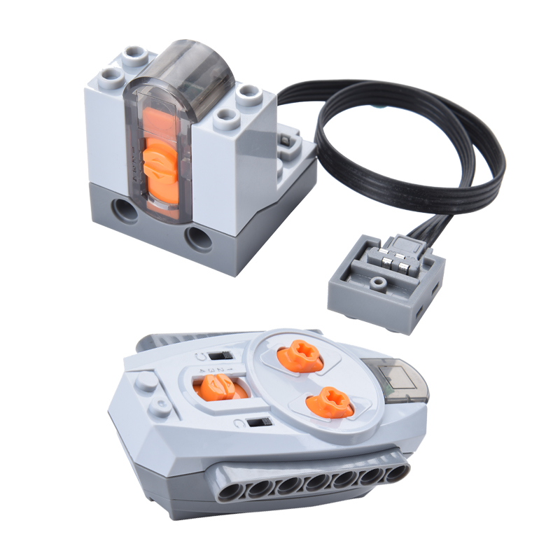 Technology Power Feature Kits IR TX Servo Battery Box Building Blocks Bricks Toys Compatible with IR TX 8835 technology power feature kits ir tx
