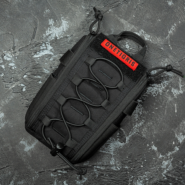 OneTigris First Aid Medical Bag Pack Medical Kit Quick Detach EMT/First Aid Pouch Tactical EDC Airsoft Trauma Pouch