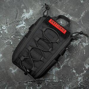 Image 1 - OneTigris torba medyczna pierwszej pomocy zestaw medyczny Quick Detach EMT/torba na akcesoria do pierwszej pomocy Tactical EDC Airsoft Trauma Pouch