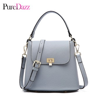 Luxury Brand Leather Women Bag Genuine Leather Lady Shoulder Bag Bucket Fashion Crossbody Bag High Quality Handbag
