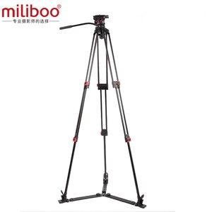 Image 2 - Tripé profissional multifuncional mtt609a, carga de 15 kg, câmera alta potência hidráulica para camcorder/dslr máx. max
