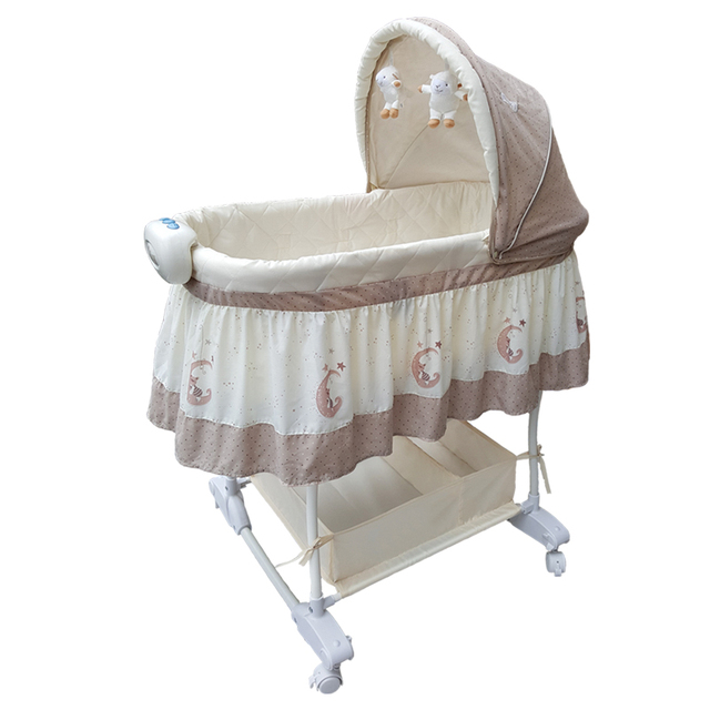 Baby Crib Bed Outlet European Style Bb Cradle Cot With Mosquito Net