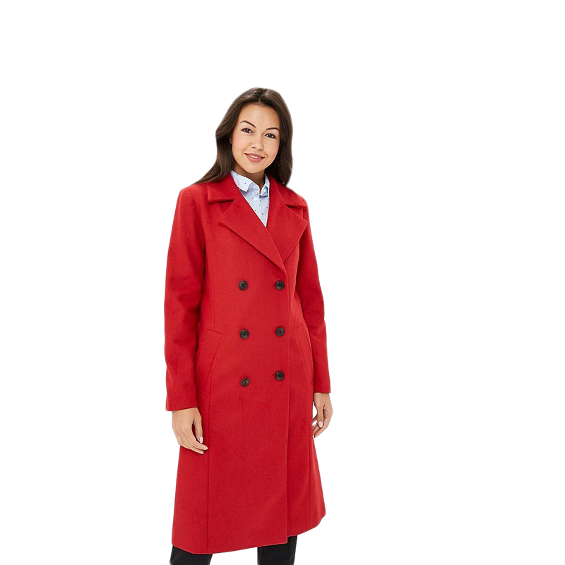 Trench MODIS M182W00270 coat for female for woman TmallFS blue plain lapel collar sleeveless trench coat