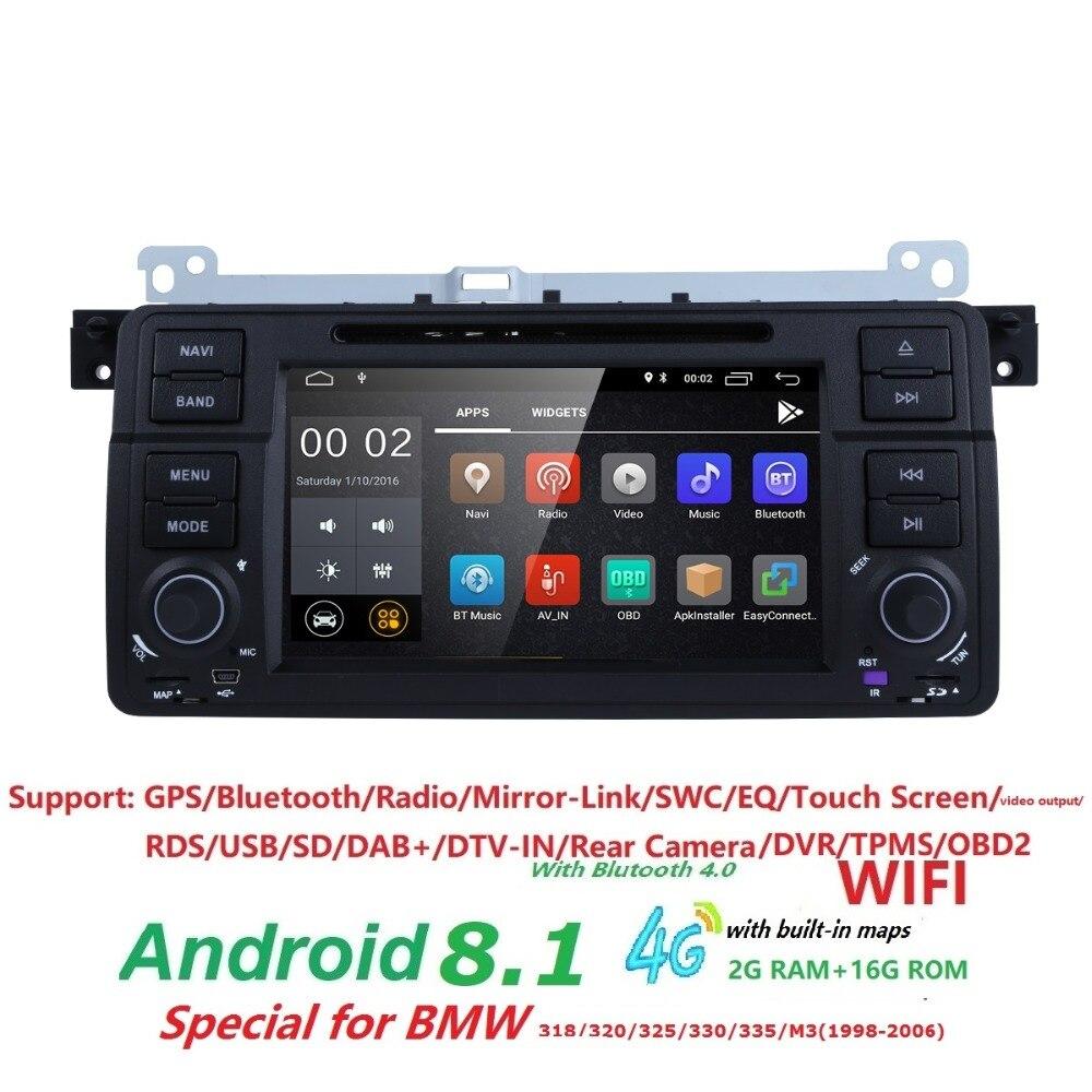 Android 8.1 Quad core HD 1024 * 600 pantalla 2 DIN Car DVD GPS Radio - Electrónica del Automóvil - foto 2