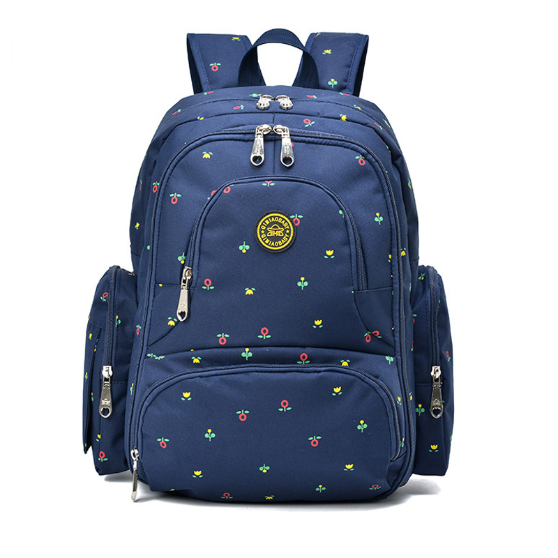Baby Diaper Bag Backpack Waterproof Large Capacity Mummy Package Maternal Supplies Nappy Insert Backpack With Changing Pad diaper bag large capacity mummy package multifunction pregnant mother backpack for mum bolso maternal baby nappy changing bag