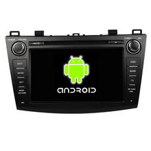 ROM 16G Quad Core 1024*600 Android 5.1.1 Fit Mazda 3 2009 2010 2011 2012 8″ Car DVD Player GPS TV 3G Radio Navigation