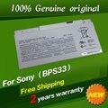 Envío libre vgp-bps33 batería original del ordenador portátil para sony vaio svt14 t14 t15 svt15 svt14113cx svt151190x 11.4 v 3760 mah 43wh