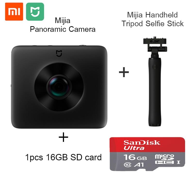 Global Version Original Xiaomi Mijia Panorama Action Camera Mi Sphere Camera Ambarella A12 3.5K Video Recording WiFi Bluetooth цена