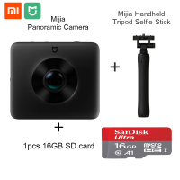 Global Version Original Xiaomi Mijia Panorama Action Camera Mi Sphere Camera Ambarella A12 3.5K Video Recording WiFi Bluetooth
