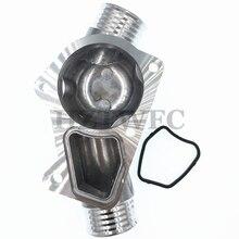 Алюминиевый термостат корпус крышка 11531722531 с прокладкой для BMW M3 Z3 E34 E36