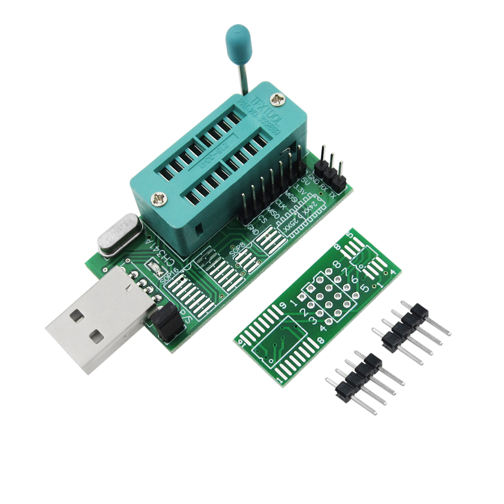 New 10pcs Ch341A 24 25 Reprogrammed Dvd Router Bio S Brush Multifunctional Usb Programmer100% New Original