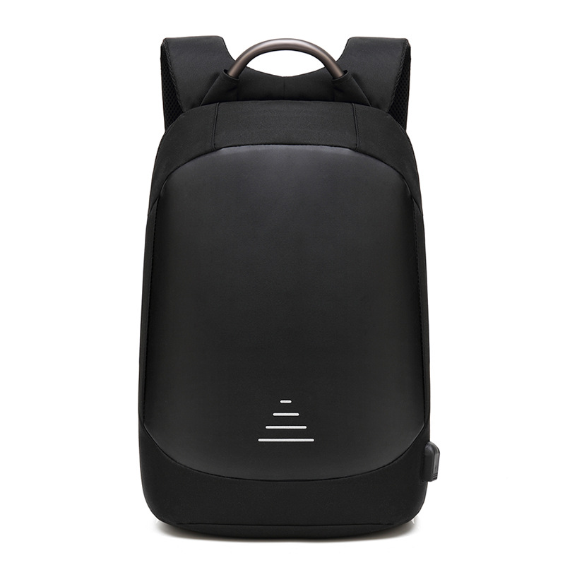 Men Waterproof Anti theft Laptop Backpacks Modernist Look Water Resistant with USB Charging Port 15.6 Notebook Travel Backpack
