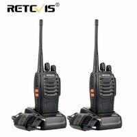 2pcs Retevis H777 Portable Walkie Talkie 16CH UHF 400 470MHz Ham Radio Hf Transceiver 2 Way