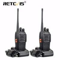 2pcs Retevis H777 Portable Walkie Talkie 16CH UHF 400 470MHz Ham Radio Hf Transceiver 2 Way