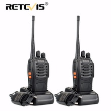2 stücke Retevis H777 Tragbare Walkie Talkie 16CH UHF 400-470 MHz Amateurfunk Hf-Transceiver 2 Way cb Radio Communicator Walkie-talkies