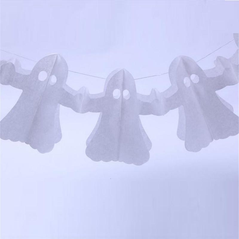 Halloween ghost garland banner11 (2)