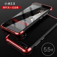 Phone Case For Xiaomi Mi 5x 5 5 Bumper Vannego Original Aluminum Metal Frame Hard PC