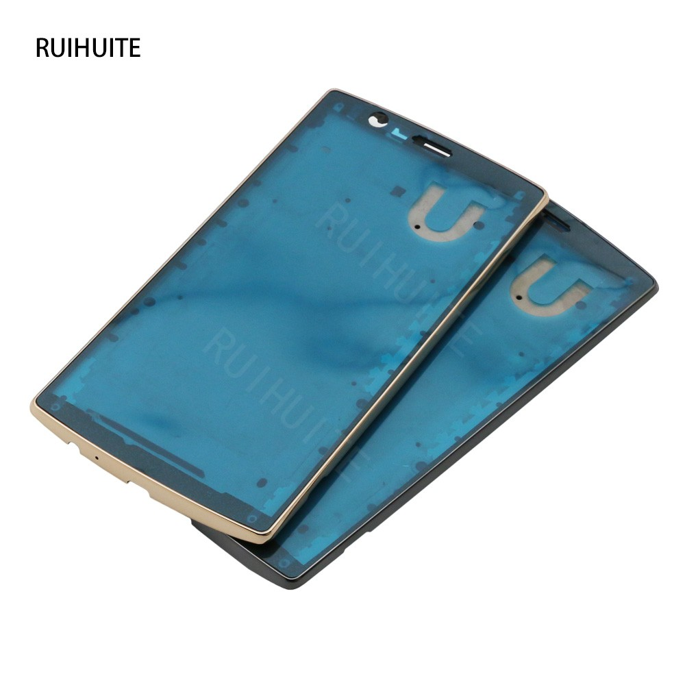 RUIHUITE For LG G4 H810 H815 Front Housing Bezel LCD Frame Cover Case Replacement Parts