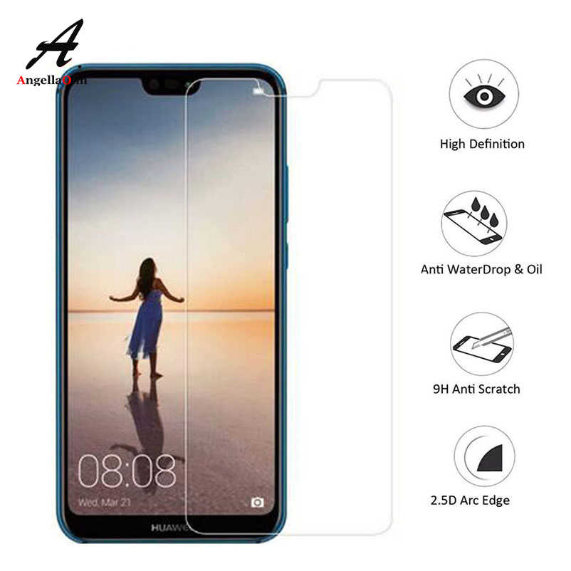 Top 9H tempered glass For Huawei P20 Pro lite p10 2017 P9 mate P Smart For Honor 10 6C 8 7X 6A screen protector film case Glass