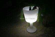 Водонепроницаемый, загораются ведра напиток слайд дизайна шампанское кулер светодиодной подсветкой светодиодов