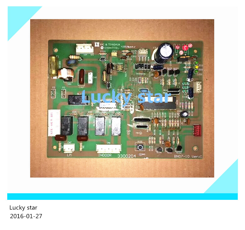 95% new for Haier Air conditioning computer board circuit board KFR-60LW/BPF 3300204 good working 95% new for haier air conditioning computer board circuit board kfr 28g 26g bpf 001a0600286 good working