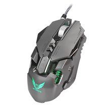 KuWFi Mechanical Gaming Mouse Adjustable 3200DPI 7 Buttons Game Competitive Mice LED Backlight For PC Mac Laptop LOL Dota