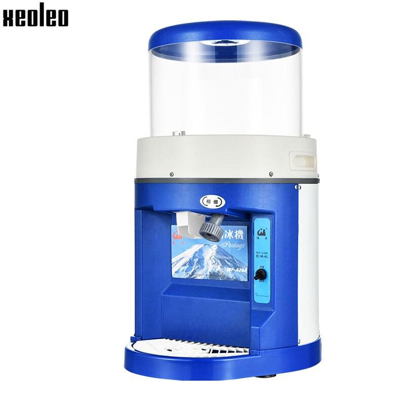 xeoleo automatic ice shaver commercial electric ice crushers 250w ice planer 2kgmin 220v - Slushie Machines