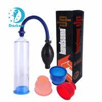 """8 """"Handsome up POWER Vakuum Penis Pumpe Erweiterung Sex Produkte Für Mens Penis Enhancer"""