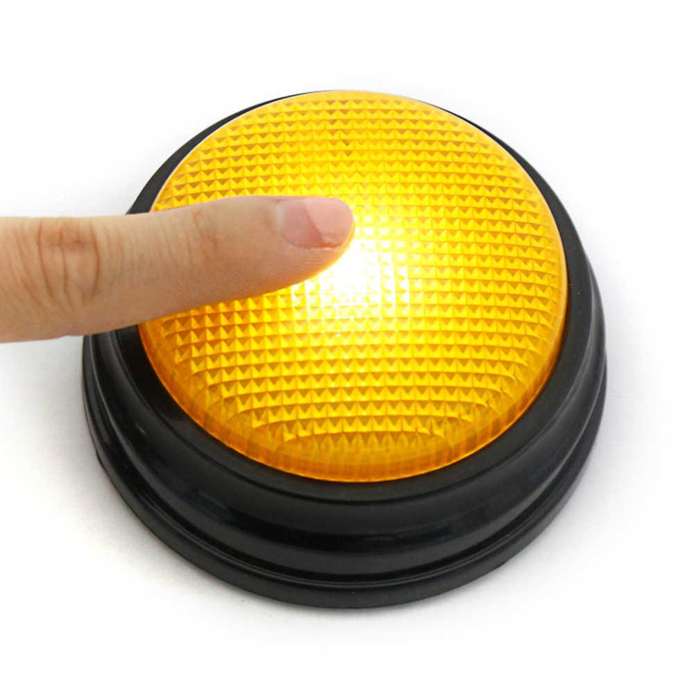 4 Màu Sắc/Bộ Ghi Hình Nói Nút Với Chức Năng Đèn Led Học Tài Nguyên Trả Lời Buzzers Học Lấy Quà Tặng Tương Tác Đồ Chơi