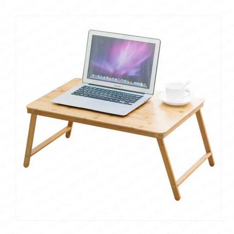 European Trojan Folding Laptop Desk Bed With Small Table Dormitory Lazy Simple Desk Study Table