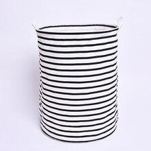 Enipate Big Stripes round storage bag/box/bins for cloth/toy home strorage organazation home and garden