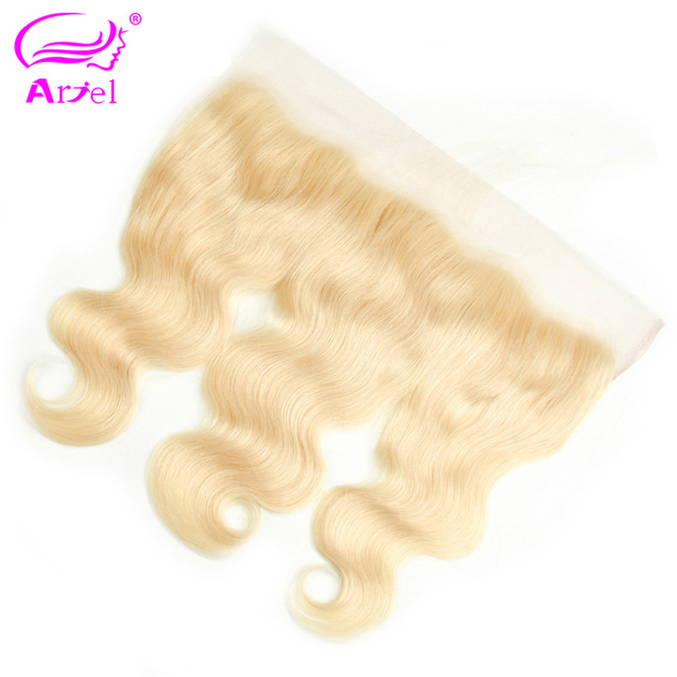 Image 3 - Brazilian Body Wave Frontal Closure 613 Frontal Closure Blonde Transparent Frontal 13x4 Remy Ear To Ear Lace Frontal Closure-in Closures from Hair Extensions & Wigs