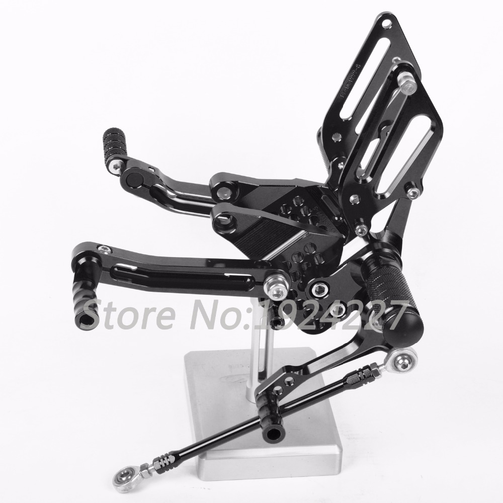 8 Colors CNC Rearsets For Ducati 999 949 749 748 916 996 998 All Years Rear Set Motorcycle Adjustable Foot Stakes Pegs Pedal abs fairing kit for ducati 748 916 996 998 03 04 05 ducati 748 916 996 998 2003 2004 2005 red white fairings set 7gifts dc10