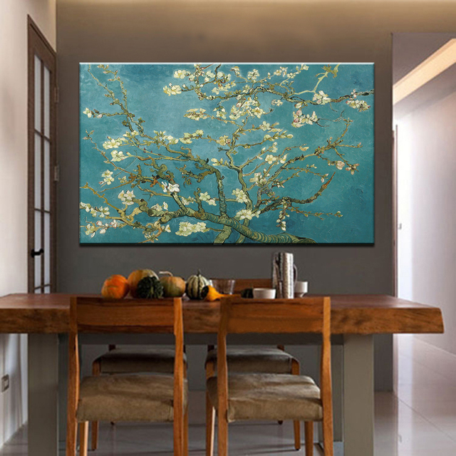 Blossoming Almond Tree Vincent Van Gogh