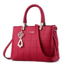 Women Bag Pu Leather Tote Brand Name Bag Ladies Handbag Lady Evening Bags Solid Female Messenger Bags Travel Fashion