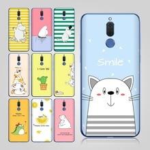 Cute Hippo for Case Huawei Mate 10 Lite Mate 20 lite Pro Case for Funda Huawei  P10 lite P9 lite 2017 Mate 9 10 Pro P10 Case Cat