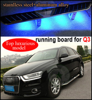 Fit für Q3 fuß bord seitigen bar seite schritt, neueste produkt, mit mode LED-Licht, Top luxuriöse, TOP zieht, ISO9001 qualität