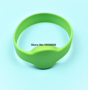 Image 3 - Bracelet en Silicone, RFID rechargeable 125Khz T5577/EM4305, 1 pièce, copie Clone blanc, carte de contrôle daccès