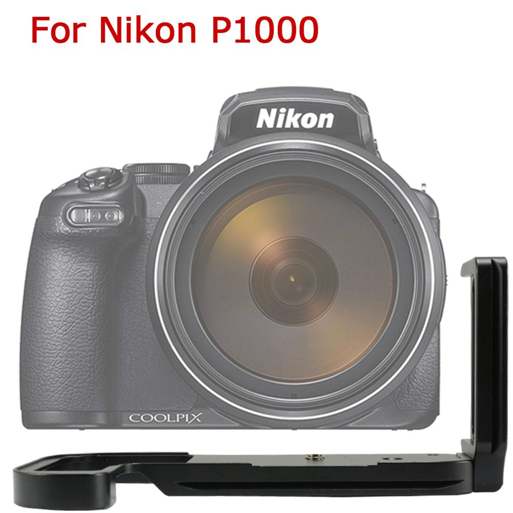 Upgrade version Quick Release L Plate battery bottom Bracket Fixed Base Holder Hand Grip for Nikon