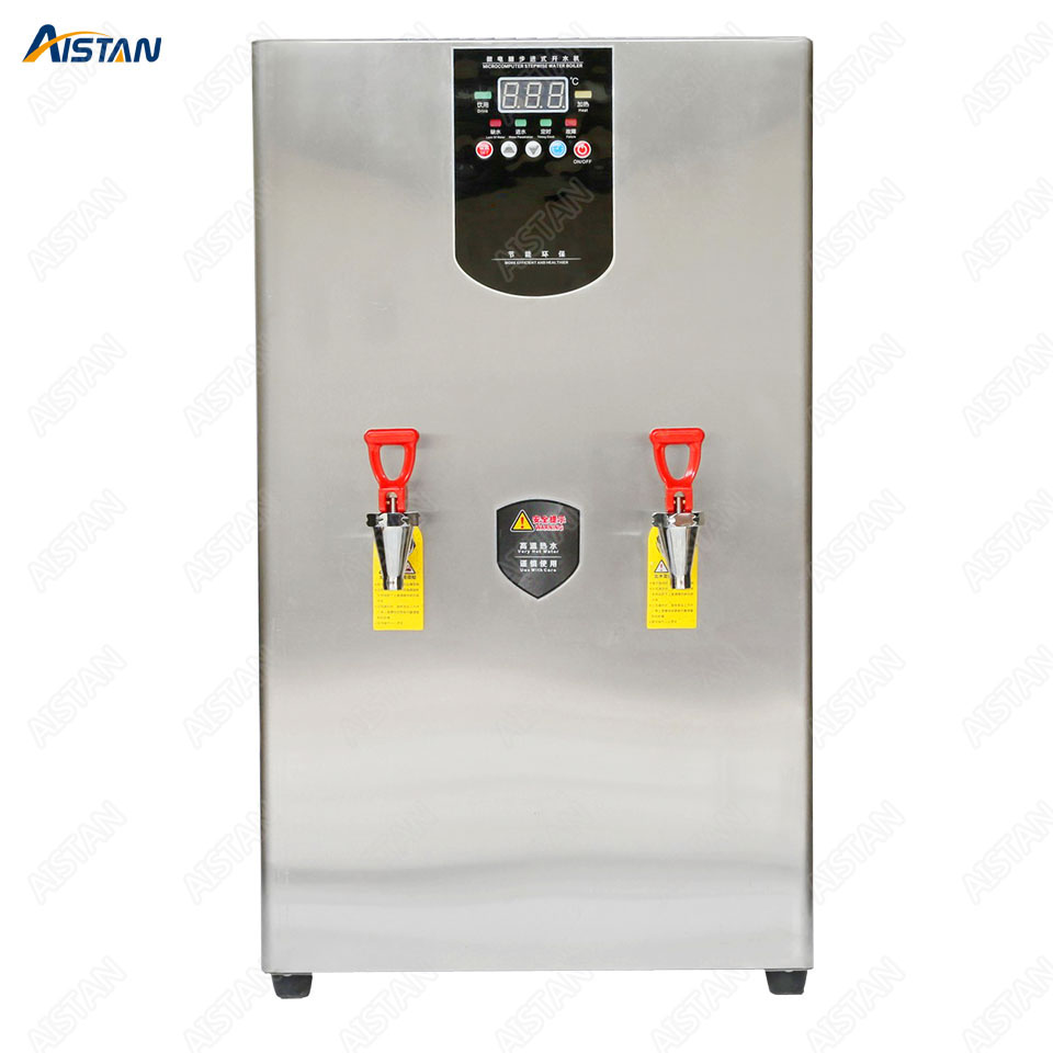 KW30L Commercial big drinking water boiler commercial stainless steel electric stepwise water boiler 30L 40L 60L 220V 2