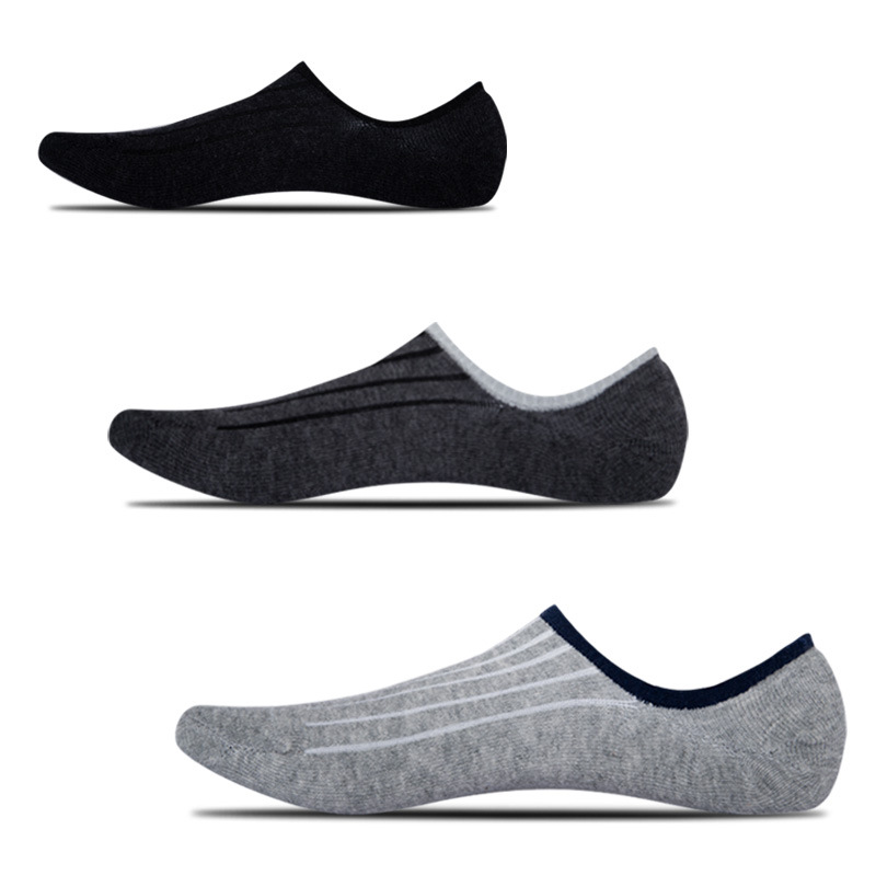 5 Pairs Men's Cotton Socks Summer Non-slip Large Size 42,43,44,45,46,47,48 Fashion Casual High Quality Breathable Male Socks