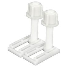 2 шт DIY пластиковые винты для сиденья унитаза Крепления подходят для сидений унитаза петли ремонтные инструменты тип и размер: 5#4,4X2,4 см