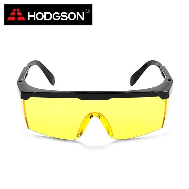 8ac081c1e7 HODGSON Ámbar Amarillo Gafas de Protección Gafas De Seguridad Gafas  Transparentes De Seguridad Ciclismo Gafas Ciclismo