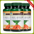 3 bottles 500mg*60 softgels Beta carotene soft capsule Health and nutrition supplements