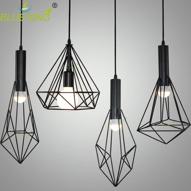 Personalidad diseño simple geomitry de hierro forjado luces ...
