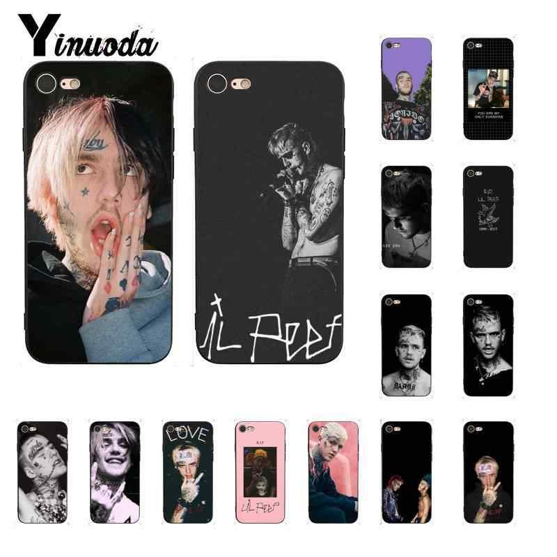 Yinuoda Lil Peep Lil Bo Peep Silicone Mềm Điện Thoại TPU Cho iPhone 8 7 6 6S 6Plus X XS MAX 5 5S SE XR 10 11 11pro 11Promax