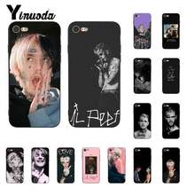 Yinuoda Lil Peep Lil Bo Peep Lembut Silicone TPU Ponsel Cover UNTUK iPhone 8 7 6 6S 6Plus X XS Max 5 5S SE XR 10 11 11pro 11 Promax(China)