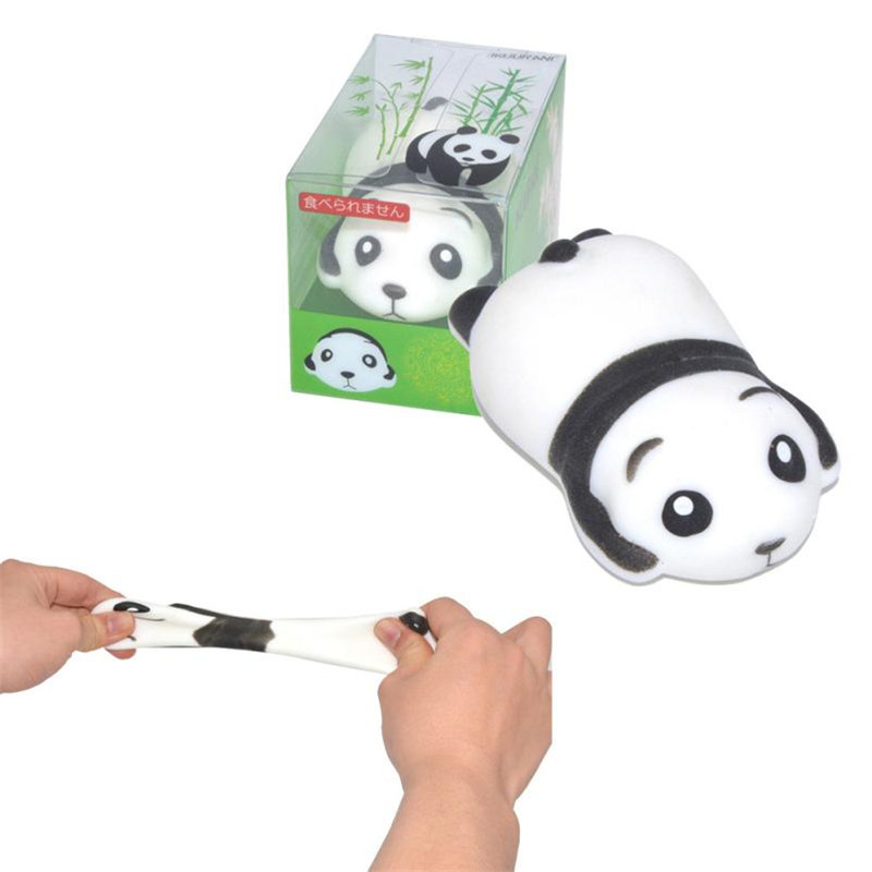 Exquisite Fun Crazy Panda Scented Squishy Charm Slow Rising 7cm Simulation Toy more than 3 years old Lowest price Wholesale35